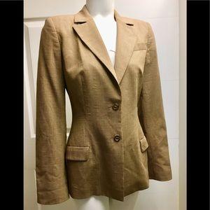 Piazza Sempione brown blazer size IT 38 us 4
